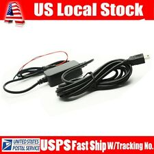 Mini usb 12v to 5v hard wire Adapter Cord Cable For G1W G1W-C A118C A119 A119S