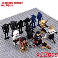 12 Pcs Stormtrooper Army Star Wars Clone Trooper Minifigures Lego MOC