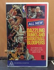 DAZZLING DUNKS AND BASKETBALL BLOOPERS - VHS