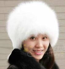 Casual Womens Thicken Faux Fur Caps Winter Warm White Outwear warm Beret Hats