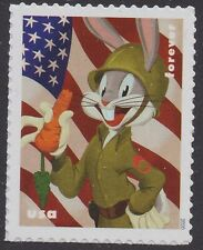 US 5503 Bugs Bunny Patriotic Sergeant forever single (1 stamp) MNH 2020