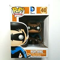 NIGHTWING Funko Pop! Heroes DC Comics 40 Vinyl Figure VAULTED  *SHELF WEAR*