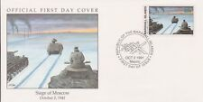 W24 1-1 Isole Marshall FDC COVER 1991 ASSEDIO DI MOSCA 1941