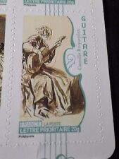 FRANCE 2010, TP AUTOADHESIF 393 MUSIQUE GUITARE neuf**, MNH STICKER STAMP