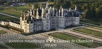 France 2019 MNH Chambord Castle 1v M/S Souvenir Castles Architecture Stamps
