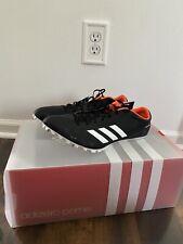 Adidas Adizero Prime SP Sprint Black White Track Spikes CG3839 Men's Size 10.5