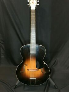 """Vintage Pre-war Regal Orchestra Archtop Guitar - Rare """"house brand"""" (Norwood)"""
