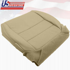2004 Acura TL Passenger  Bottom Replacement Seat Cover Perforated Leather TAN