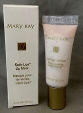 NIB Full Size Mary Kay Satin Lips Mask & New MK Bonus Skin Samples BIGGER .45 OZ
