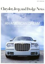 Chrysler Jeep Dodge News Heft 5 Winter 2006 300C Voyager Caliber R/T DeSoto