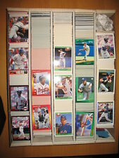 1991 1992 O-Pee-Chee Premier 93 O-Pee Baseball Large Lot approximately 986 Cards