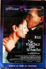 Jacques Rivette , Ne Touchez Pas A L a Hache , AFFICHE