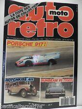 Revue AUTO RETRO moto magazine n° 84  - aout 1987 collection sunbeam V8 tiger