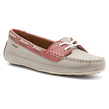 SEBAGO BALA GRAY / RED WOMEN'S LOAFERS DRIVING MOCCASINS BOAT SHOES 6 / 36 SALE