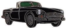 MG MGB Chrome bumper car cut out lapel pin  - Black