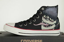 NEW All Star Converse Chucks Hi 132319c Gorillaz black high top UK 5 Size 37, 5