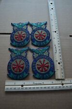 Lot of 4 USAF Fire Protection Unit Patches