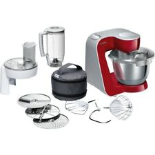 Bosch MUM58720 Küchenmaschine rotsilber MUM5 Serie Rührmaschine Mixer Schnitzler