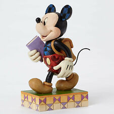 Jim Shore Disney Traditions 'Eager to Learn' Back to School Mickey 4051995