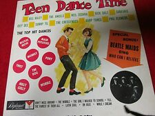 TEEN DANCE TIME ~ FEATURING THE BEATLE MAIDS !! ~ Diplomat Records Long Play