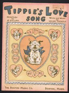 Tippie's Love Song 1947  Sheet Music