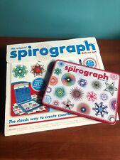The Original Spirograph Deluxe Set and Bonus Design Set EUC