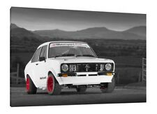 MK2 Ford Escort 30x20 Inch Canvas - Framed Picture Print Artwork