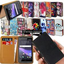 For Various HTC One M7 M8 M9 Phone Leather Smart Stand Wallet Case Cover