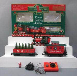 Lionel 8-81019 Lionel Holiday Special G Gauge Steam Train Set EX/Box