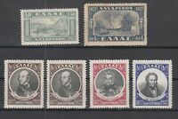 K3753/ GREECE – MI # 321 / 326 COMPLETE MINT – CV 290 $