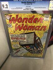 Wonder Woman #127 1962-  CGC 9.2 WHITE WP