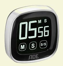 ADE TD 1302 Digitaler Küchen-Timer Touch-Screen Stoppuhr Eier-Uhr Kurzzeitmesser