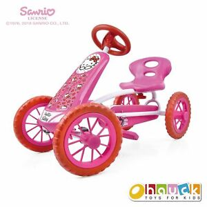 Hello Kitty Lil?Turbo Pedal Go Kart Ride On