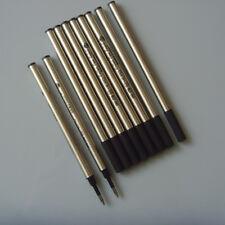 10pcs Black Parker Style RollerBall Pen Refills School Pens Writing Accessories