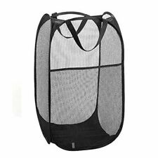 Collapsible Pop-up Laundry Hamper Portable Clothes Storage Drawstring Bag