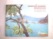 ANCIEN CATALOGUE PUB MATERIEL DE CAMPING LA PRAIRIE 1967