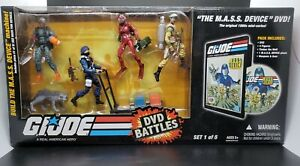 GI Joe 25th Anniversary DVD Battles Set 1 M.A.S.S Device Complete
