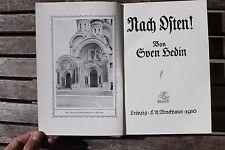 28109 SVEN HEDIN Nach Osten ! 1916 1. Weltkrieg Ostpreußen Südpolen Kurland