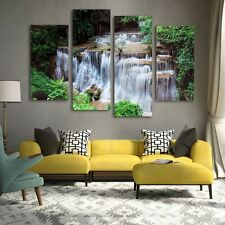 Unframed Waterfall Art Oil Painting Print Canvas Pictures Modern Home Wall Decor
