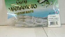 "Gary Yamamoto Custom Baits 7"" Lizard (10 pk) BLUE PEARL/SILVERFLAKE"