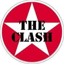 More details for official licensed - the clash - star sticker rock strummer