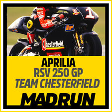 Kit Adesivi Aprilia RS 250 GP Chesterfield 1995 - Biaggi - High Quality Decals