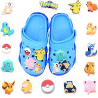 15 pcs Pokemon Shoe Charms for Croc & Bracelet & shoes Wristband Kids Party