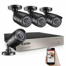 ZOSI 1080N 8CH-TVI HD 1500TVL 720P Weatherproof CCTV Camera Home Security System
