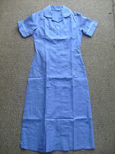 Blue & white uniform dress Nurse Hospital Health Housekeeper Domestic Size 8