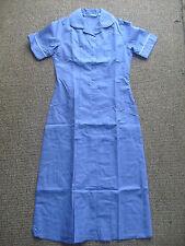 Vestido de uniforme azul y blanca Enfermera Hospital Health ama de casa Nacional Talla 8