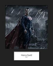 HENRY CAVILL (Superman) #2 Signed 10x8 Mounted Photo RePrint - FREE DEL