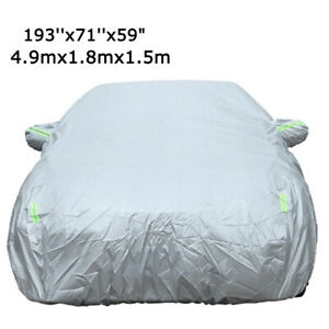 16ft Car Cover Multi Color Waterproof Rain Snow Wind Ice Resistant Protection US