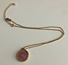 Avon Flower Necklace Pendant for Birth Month - September.  New in Box Unworn!
