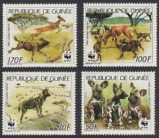 Dogs Guinean Stamps